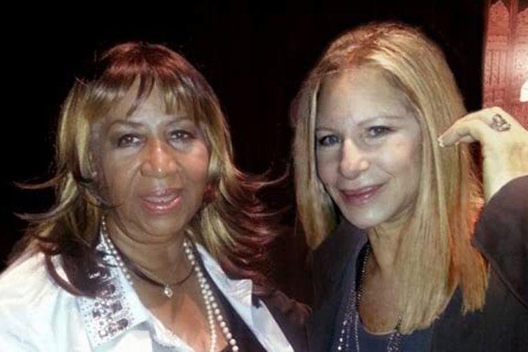 Los famosos despidieron a Aretha Franklin