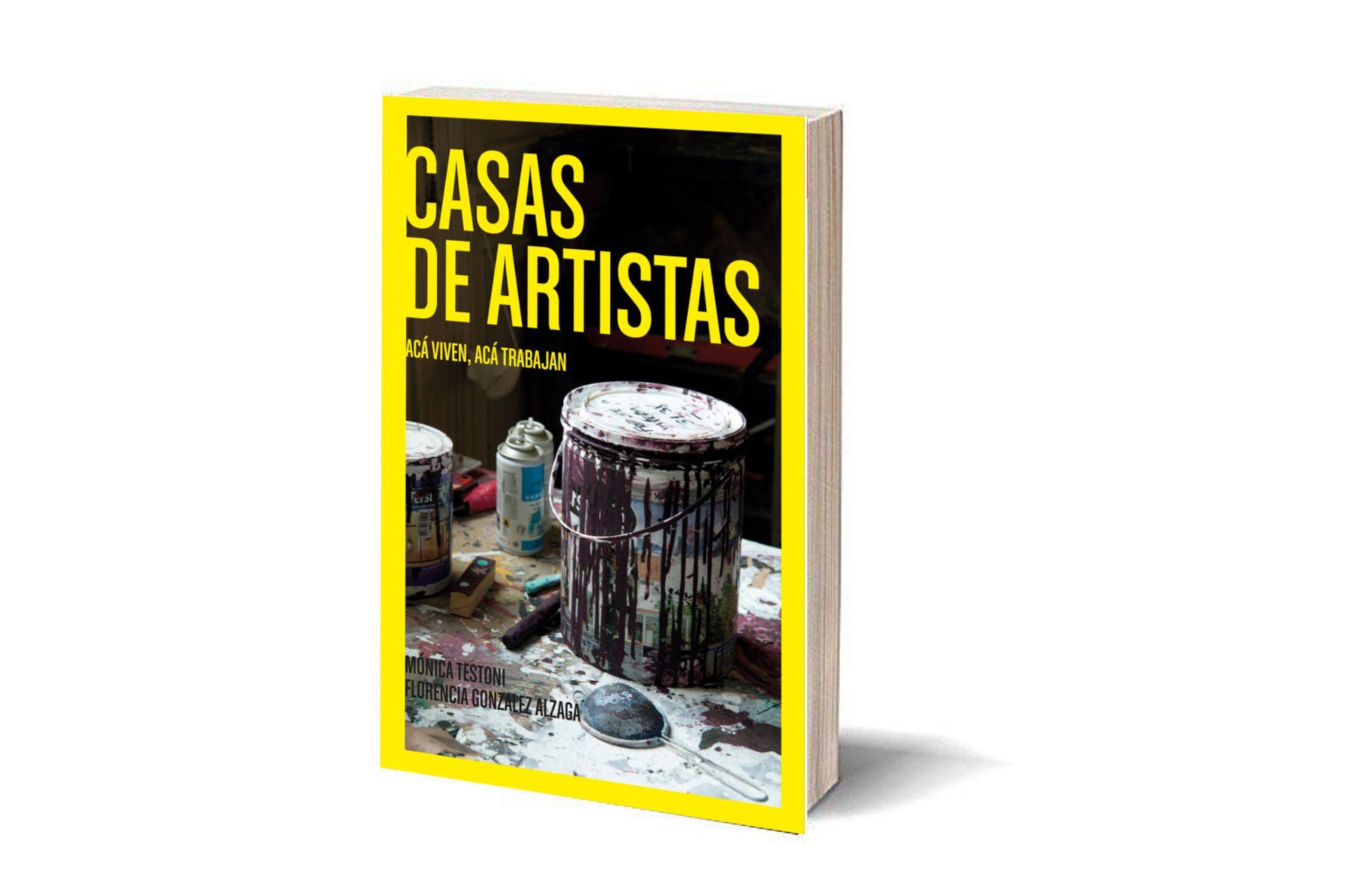 """Portada del libro """"Casa de artistas"""", edición dedicada a creadores argentinos"""