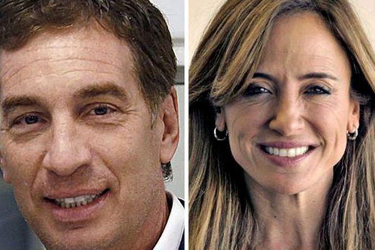 Diego Santilli y Victoria Tolosa Paz se cruzaron fuera de aire