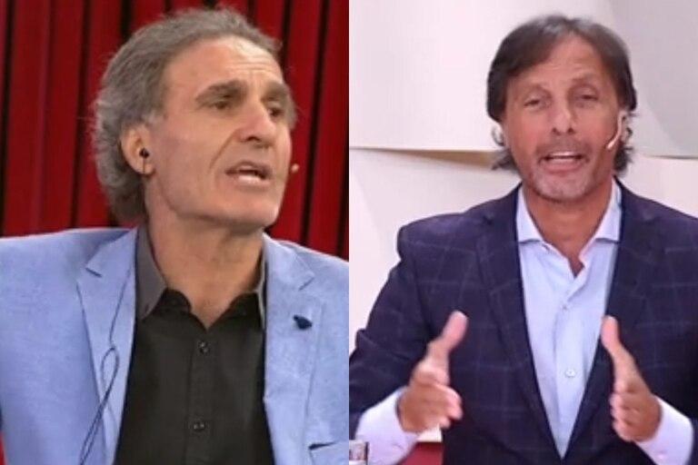 Oscar Ruggeri se indignó ante la comparación de su compañero Gustavo López