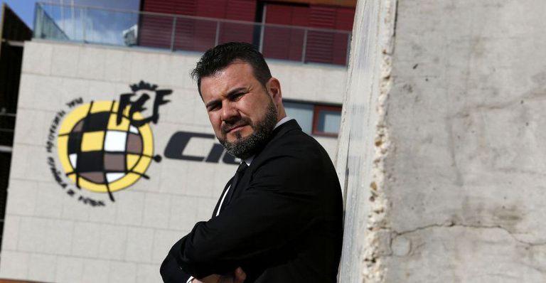 Miguel Ángel Galán, uno de los que reclaman que el VAR se deje de usar en el fútbol