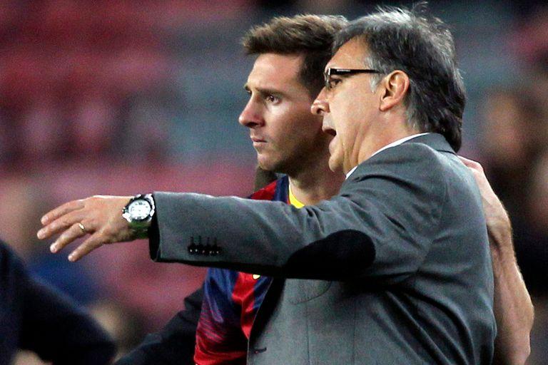 """Messi y Gerardo Martino. """"El trato que se le dio al Tata en Barcelona fue injusto"""", se lamenta Évole"""