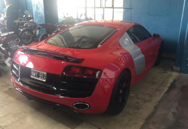 El Audi que será subastado por el Banco Ciudad