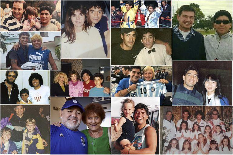 El Proyecto Pelusa intenta reconstruir la vida de Diego Maradona a partir de las fotografías que se sacó con la gente a lo largo de su vida deportiva