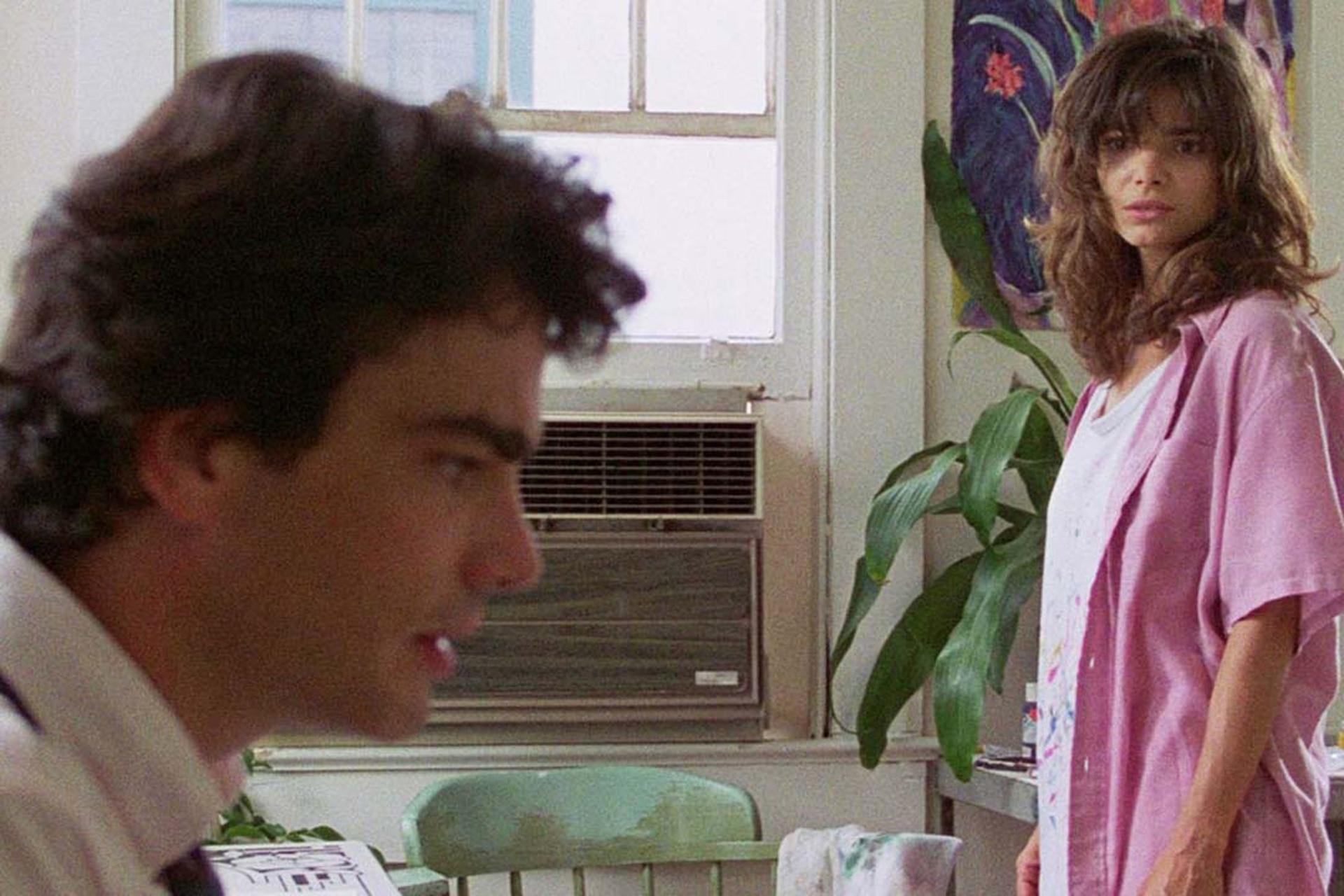 Peter Gallagher y Laura San Giacomo, los otros protagonistas del film de Soderbergh