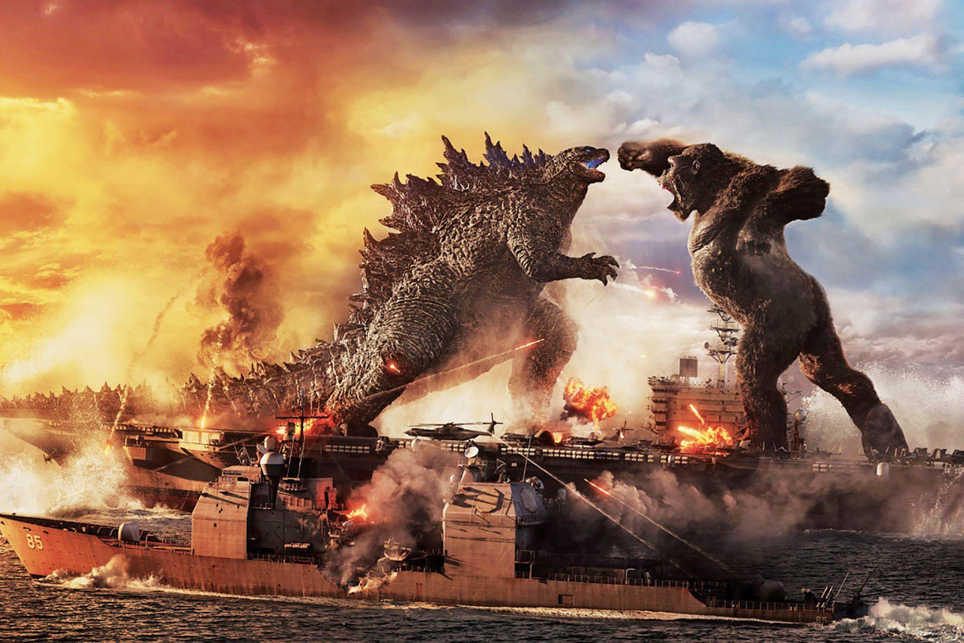 Godzilla vs. Kong, uno de los primeros grandes éxitos de taquilla desde la reapertura de los cines en distintas partes del mundo