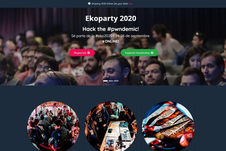 EkoParty: la conferencia de hacking local se hace virtual para la edición 2020