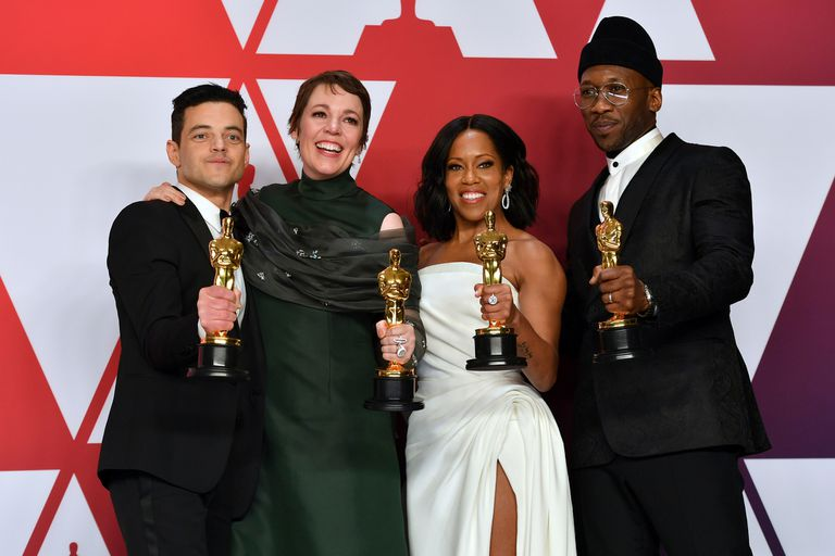 Rami Malek, Olivia Colman, Regina King y Mahershala Ali, los actores que lograron llevarse una estatuilla a su casa