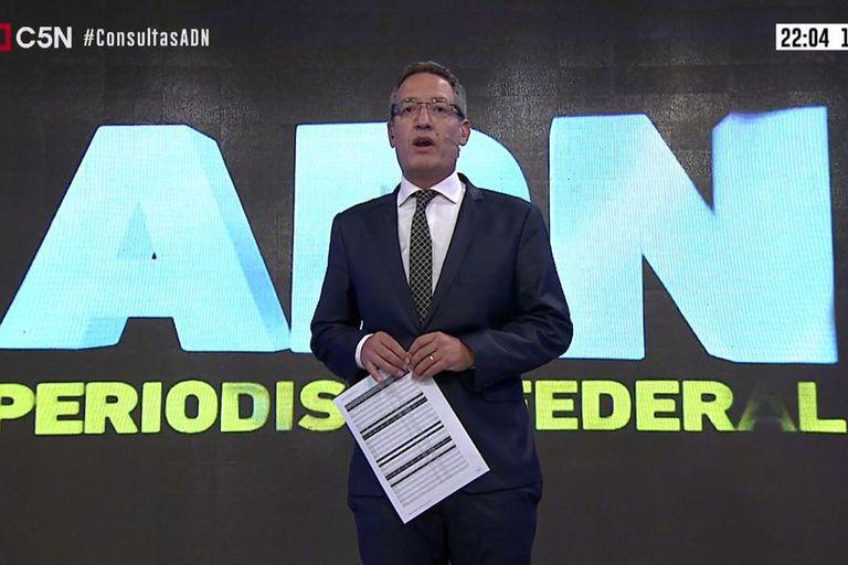 El periodista Tomás Méndez fue despedido por las autoridades de C5N