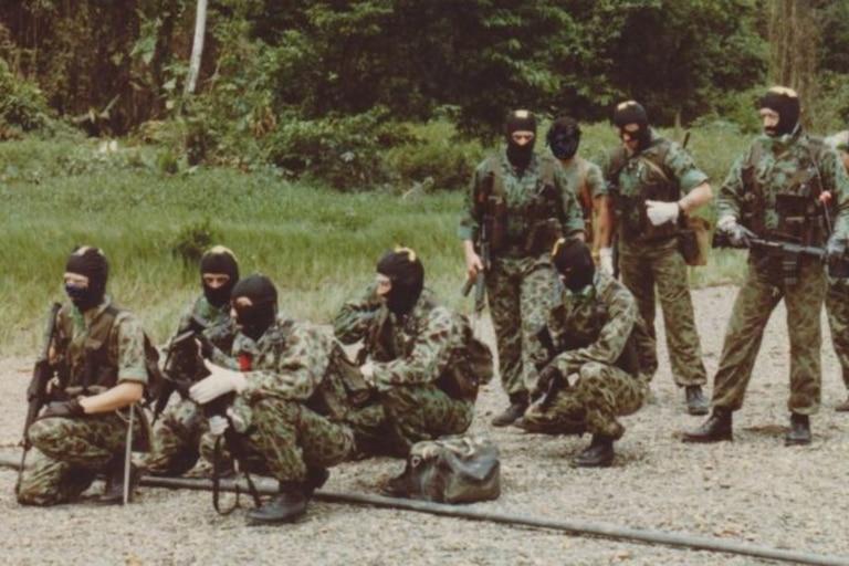 Una vez en Colombia, los mercenarios entrenaron para ejecutar el ataque