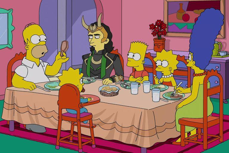 El bueno, el Bart y el Loki: Los Simpson, Marvel y otras perlas de la familia animada