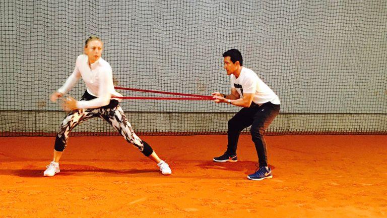 Sharapova ultima los detalles para su regreso
