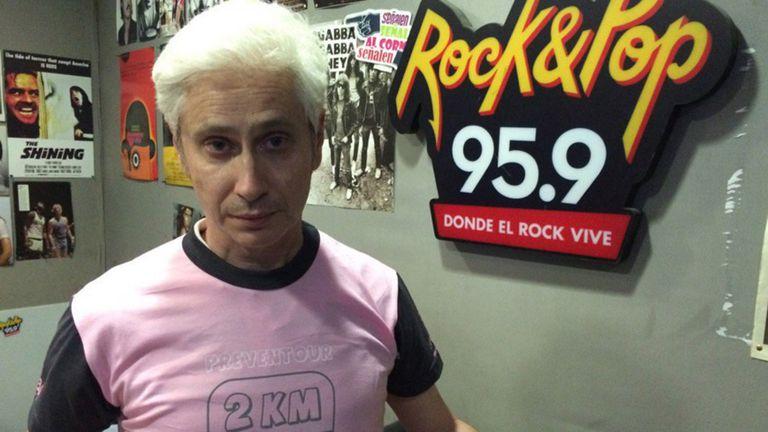 Di Natale debutó junto a De La Puente en el horario de la mañana de Rock and Pop