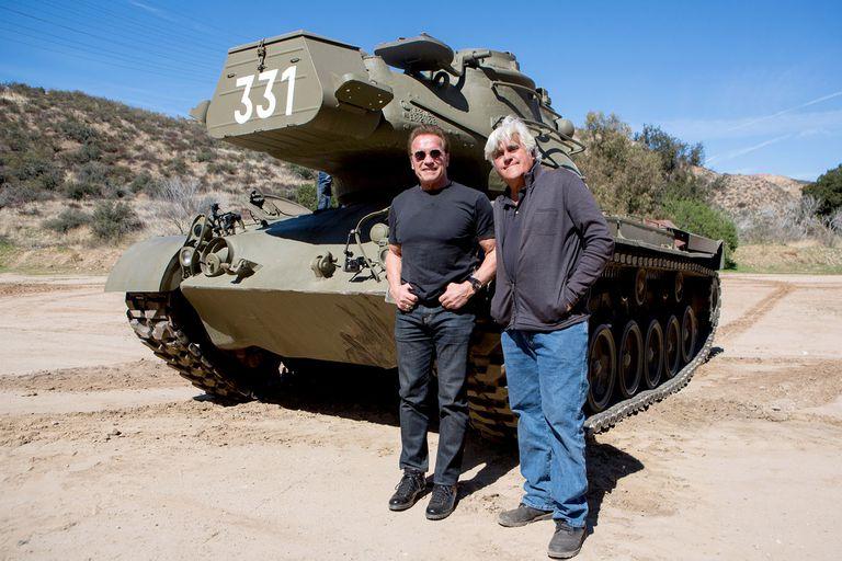 El Garage de Jay Leno con Arnold Schwarzenegger como invitado especial