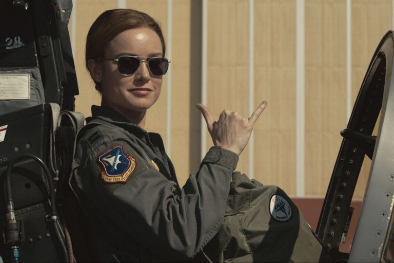Brie Larson en Capitan Marvel