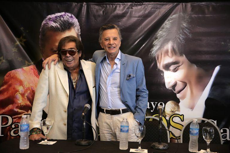Palito Ortega y Cacho Castaña anunciaron su show juntos, en el Luna Park
