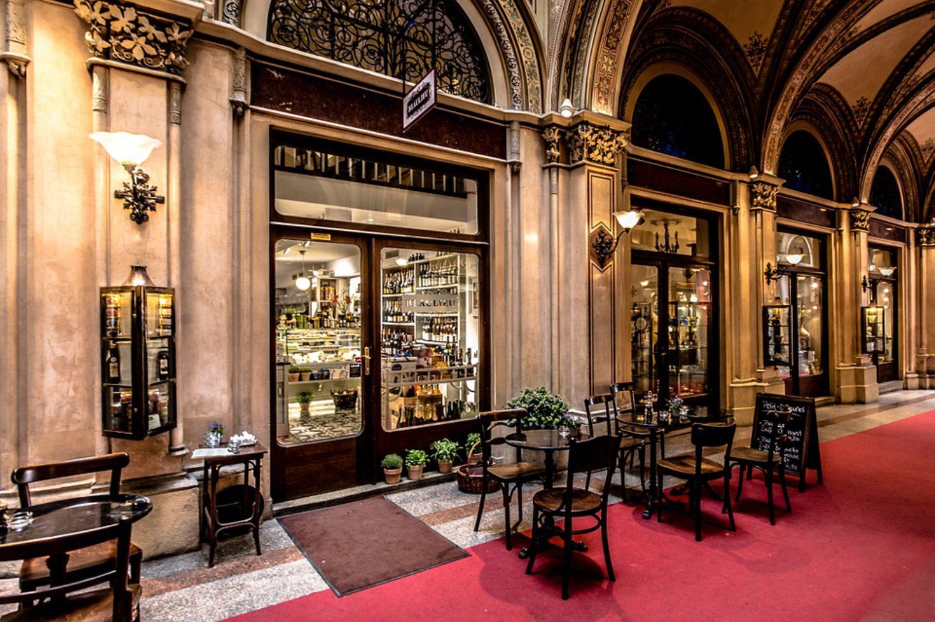 Beaulieu Èpicerie Fine Bistrot im Palais Ferstel.