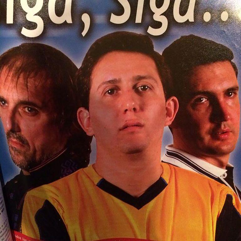Con Juan Pablo Varsky y el Ruso Verea hizo Siga siga en Radio Nacional; hermoso programa.