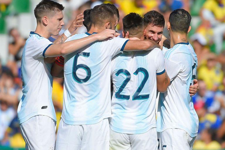 Goleada y buenas señales. La Argentina aplastó a Ecuador a pura efectividad