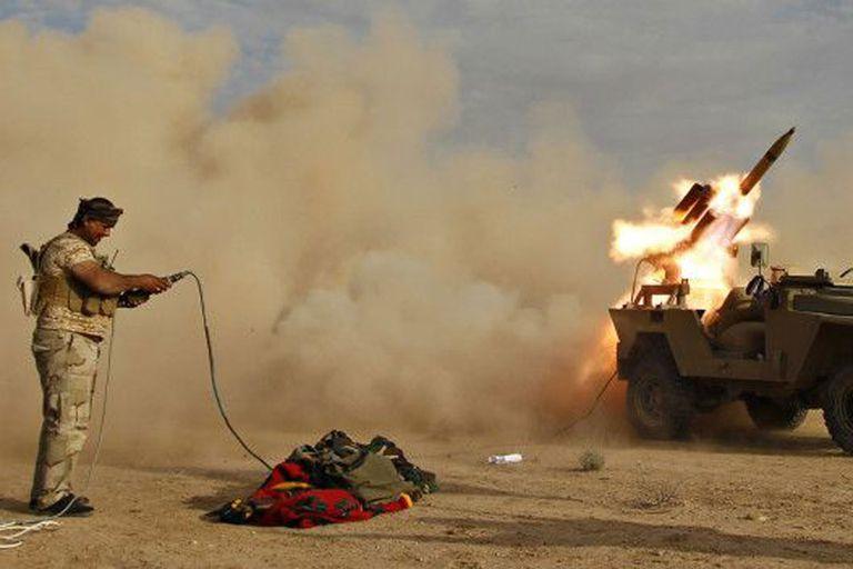 Las milicias chiitas en Irak cuentan con el apoyo de Irán