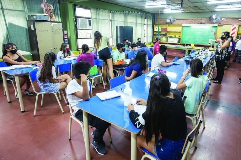 Una escuela durante el verano
