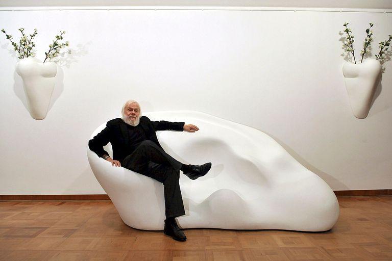 John Baldessari, en una instalación suya, en Alemania 2009