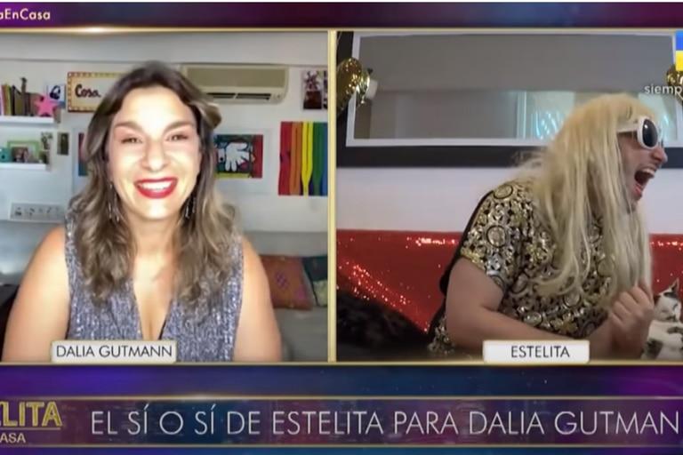 "Dalia Gutmann reveló quién es su ""permitido"""