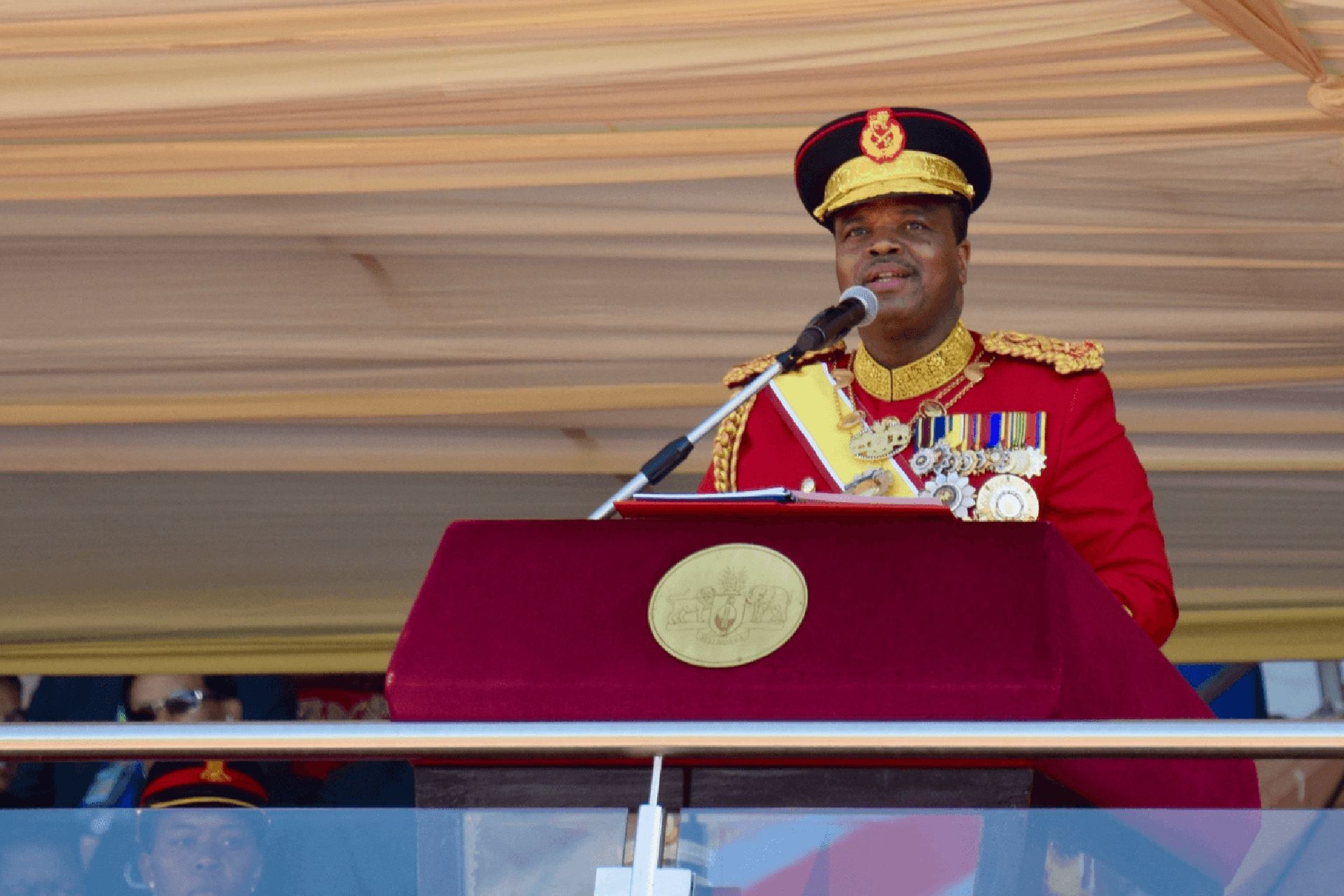 El controvertido rey Mswati III de Eswatini, previamente conocido como Swazilandia, impulsor del cambio