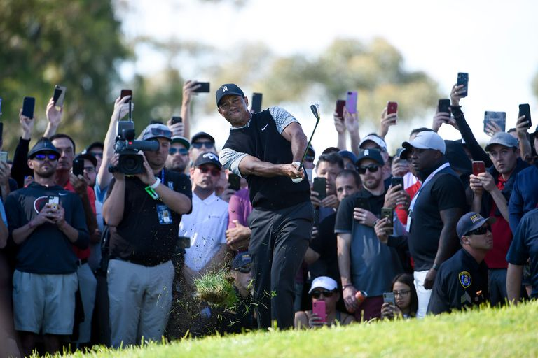 """Tiger Woods vuelve a mostrar que las canchas """"fáciles"""" no le sientan"""