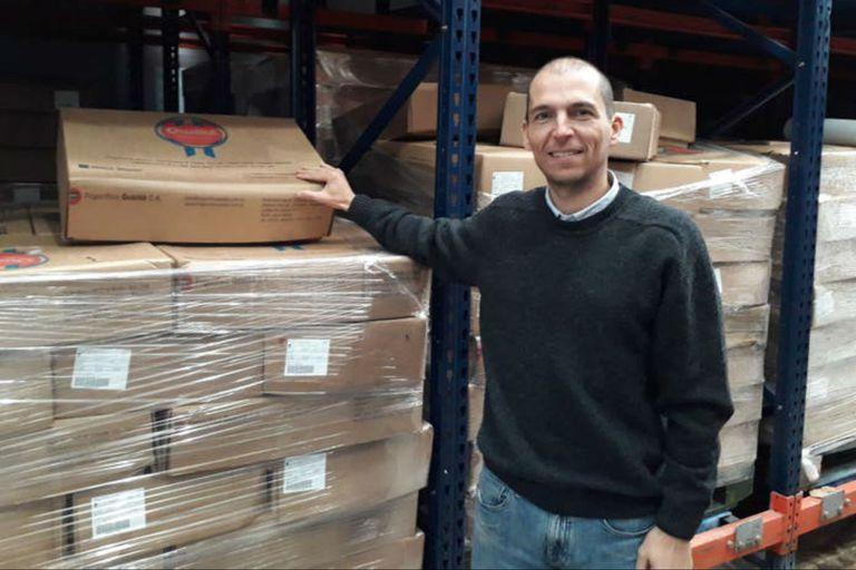 Luis Picat desarrolló una marca para su producción porcina