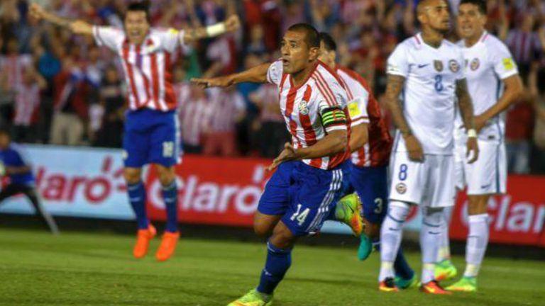 Paraguay festejó ante el bicampeón de América