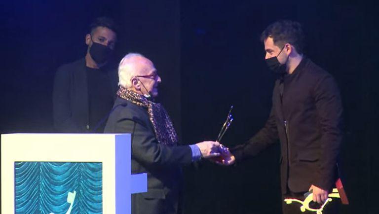 Fernando Dente ganó el premio al Mejor actor protagónico en musical, por Kinky Boots