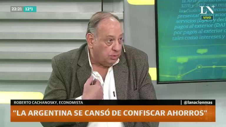 El número abrumador que reveló Cachanosky para graficar por qué la Argentina no tiene moneda