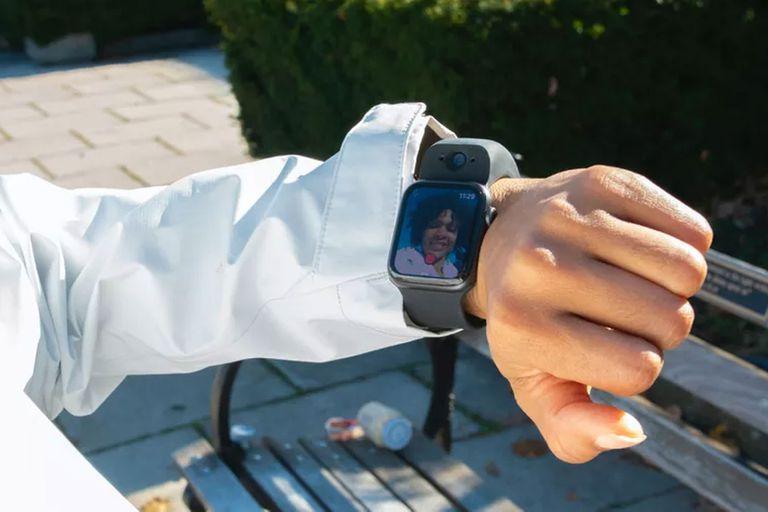 Como Dick Tracy: así es Wristcam, la correa con cámaras para el Apple Watch