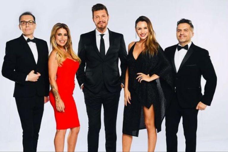 El jurado del certamen posó junto a Marcelo Tinelli, a días del inicio de una nueva -y muy especial- temporada del reality