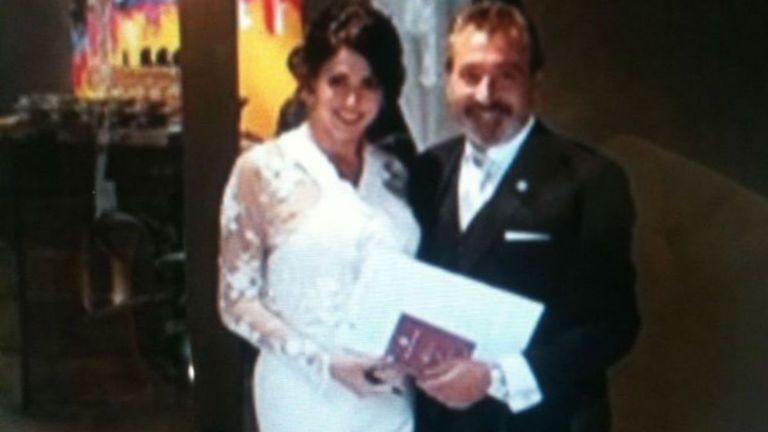 Pamela David y Daniel Vila ya son marido y mujer