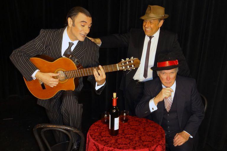 The Tango Singer, con Aníbal Silveyra como Gardel