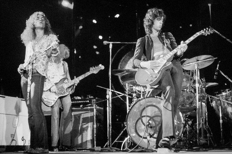 El libro 'Led Zeppelin Vinyl' reúne cientos de portadas de álbumes piratas de Led Zeppelin
