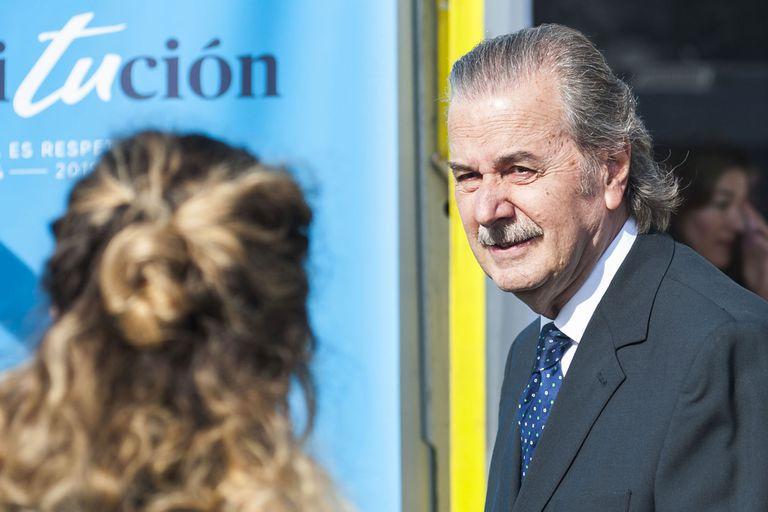 El juez de la Corte Suprema, Juan Carlos Maqueda