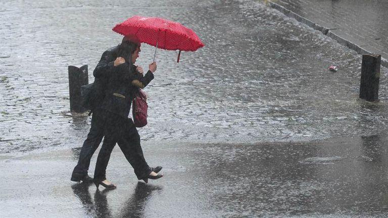 Alerta meteorológico: anuncian fuertes tormentas y una máxima de 35 grados para CABA y alrededores