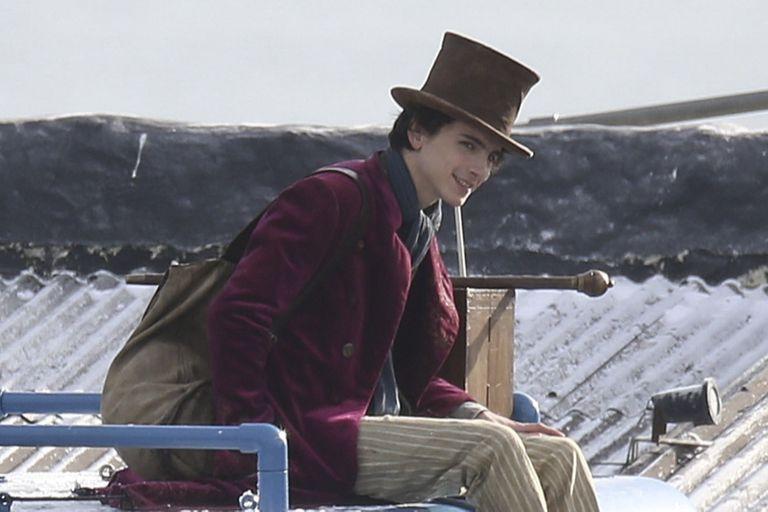 Las primeras imágenes de Timothée Chalamet como Willy Wonka