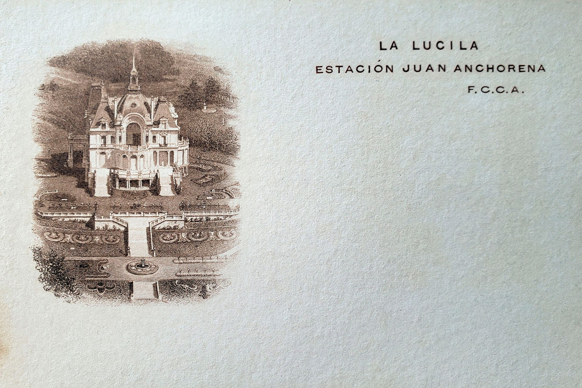 Esquela de La Lucila.