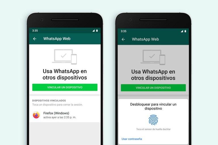 Así lucen las pantallas de autorización que solicita WhatsApp para utilizar el chat en la versión de escritorio o en WhatsApp Web para navegadores