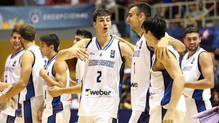 Bahía Basket festejó en Puerto Rico