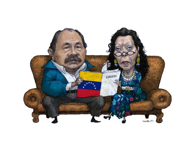 La táctica de Ortega para la represión política en Nicaragua, copia fiel del libreto chavista