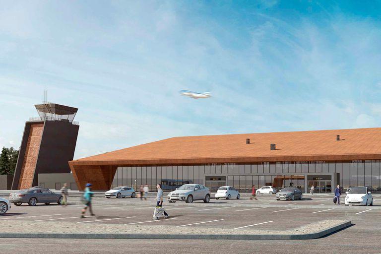 Invertirán $1150 millones para renovar el aeropuerto de Esquel
