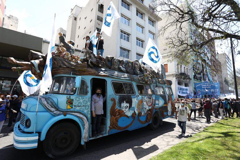 Día de la Lealtad: dónde habrá cortes de calles por la marcha de la CGT