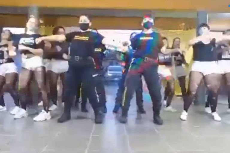 El clip de raeggeton se realizó como parte de un concurso de coreografías en el que compiten internas de diferentes cárceles bonaerenses, pero la participación de las guardias no está permitida