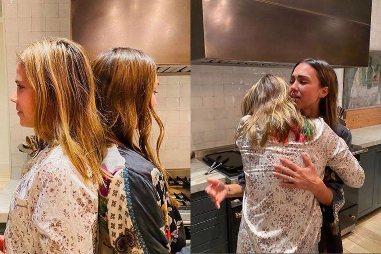 En 2020, Jessica Alba mostró en las redes que Honor era más alta que ella, lo cual la hizo emocionar