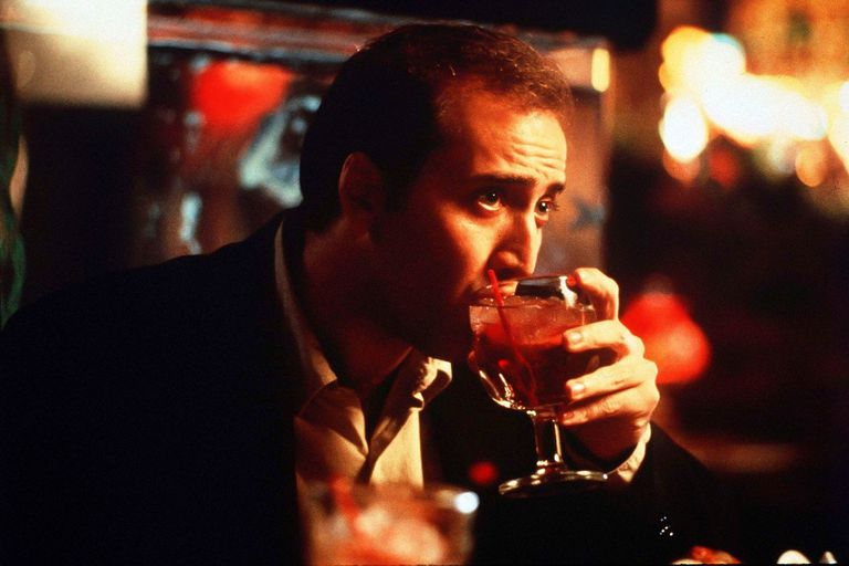 Nicolas Cage en Adiós a Las Vegas, de Mike Figgis, film por el que ganó el Oscar al mejor actor